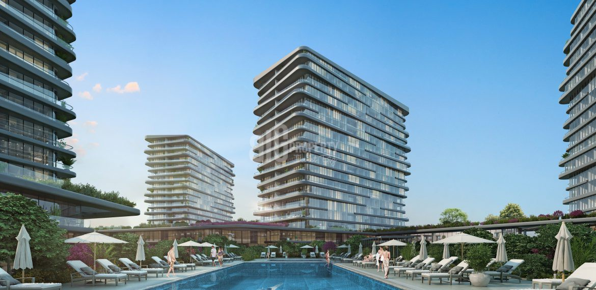 Best opportunity apartments for sale with horizon sea view in Istanbul Zeytinburnu