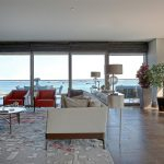 Deluxe residential for sale with horizon sea view in Istanbul Bakirkoy