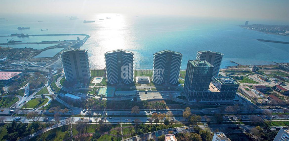 High Quality flats for sale with wonderful sea view in Istanbul Bakirkoy