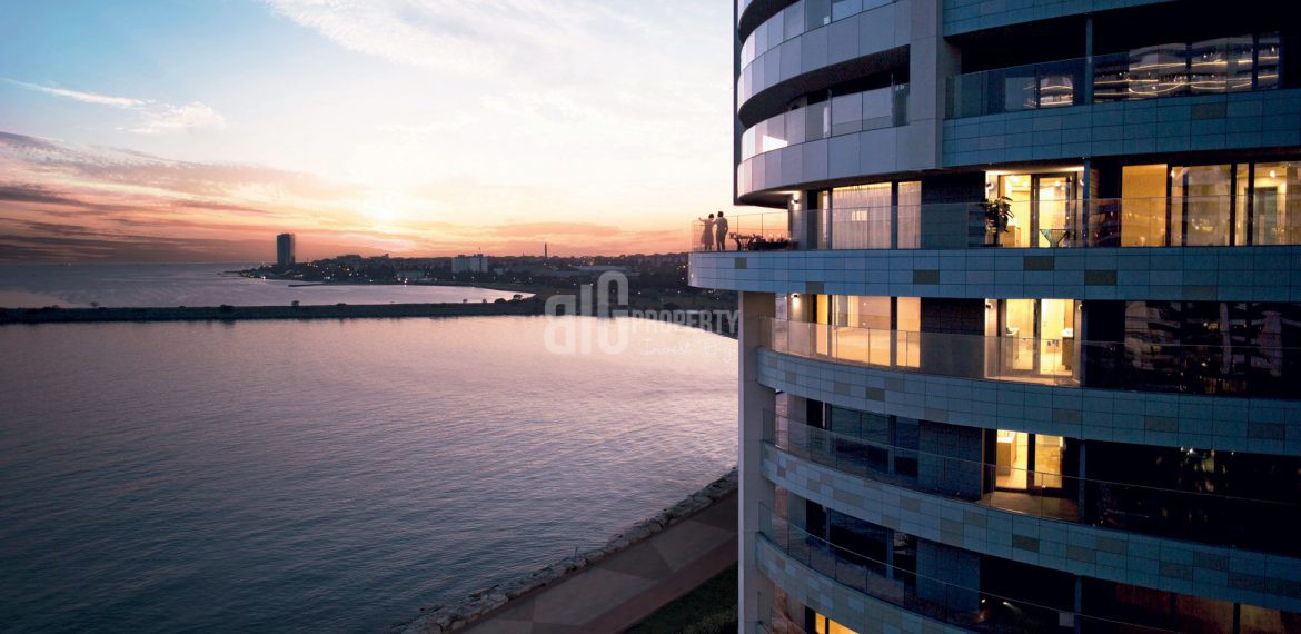 Luxury homes for sale with amazing sea view in Istanbul Atakoy