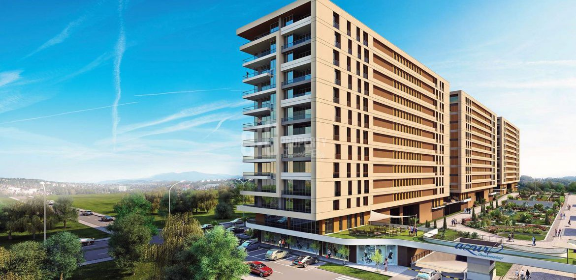 the cheapest apartments azur marmara project in esenyurt